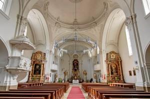Innenraum von St. Heinrich (Foto: A. Mayer)