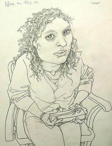 Nina (Zeichnung: Christoph Haupt)