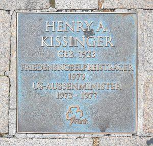 Kissinger in Fürth (Foto: Alexander Mayer)