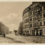 Erlanger Straße (historische Postkarte)