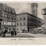 Rathaus (historische Postkarte)