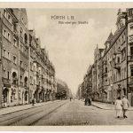 Nürnberger Straße (historische Postkarte)