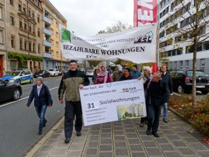 Aktion des Sozialforums (Foto: Peter A. Lefrank)