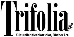 Drei Macher, eine Marke: Das Trifolia-Logo (Grafik: Robert Söllner)