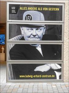 Verkappter Ludwig Erhard am LEZ (Foto: Alfred Schermann)